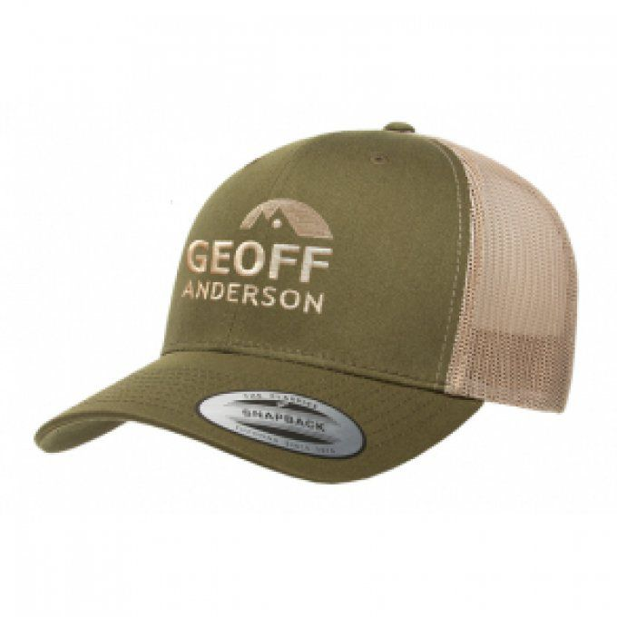 Casquette Geoff Anderson moss green