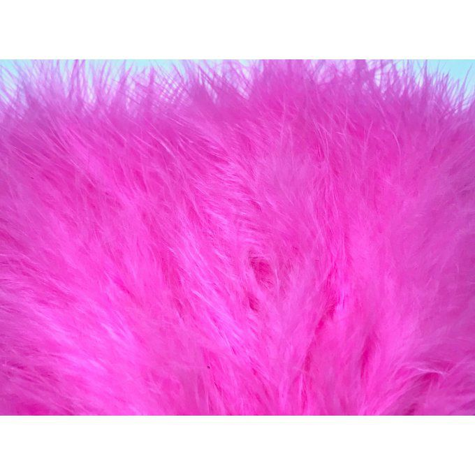 Plumes Marabou Fluo Rose