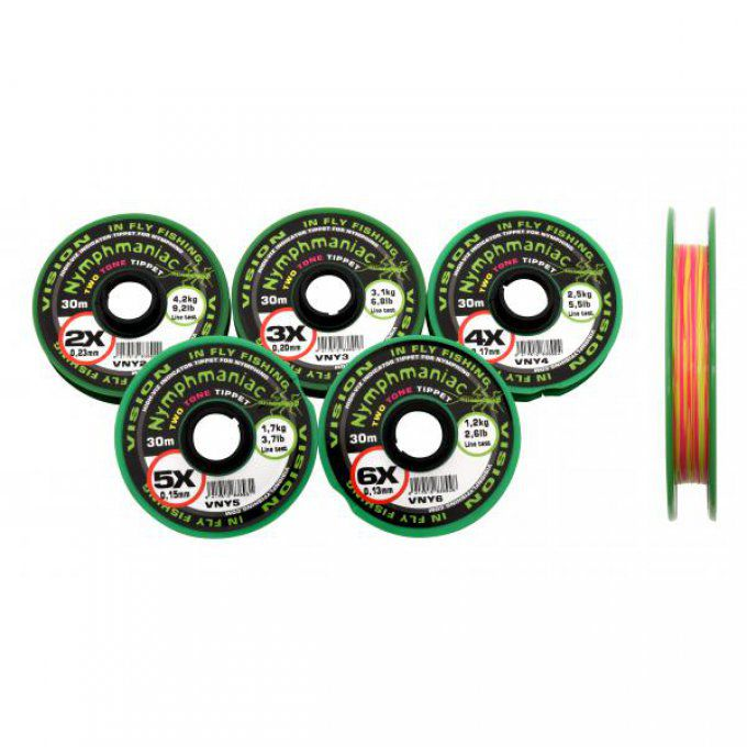 Vision Nymphmaniac Tippet bicolore